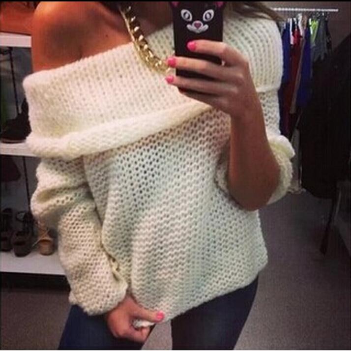 Вязание свитеров с открытыми плечами 920