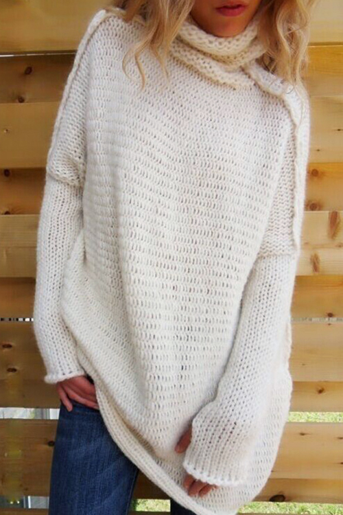 Winter Elegant Turtleneck Sweater<br>
