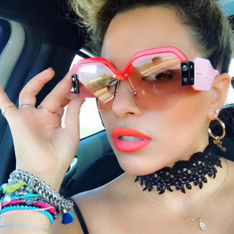 Euramerican Pink PC Sunglasses<br>