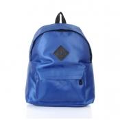 Hot Sales Zipper Design Solid Deep Blue Suede Back