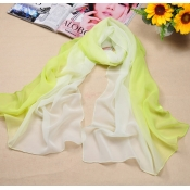 Hot Sales Gradually Changing Color Light Green Chi