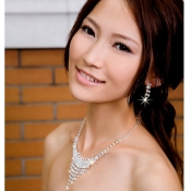 Shinning Crystal Embellished Multi-layers Wedding