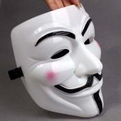 Fashion Halloween Cosplay V-Shape Vendetta Blush M