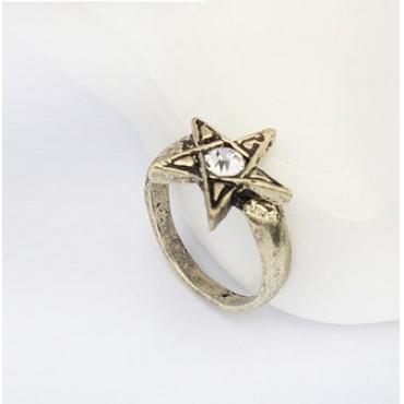 Fashion Brown Metal Ring