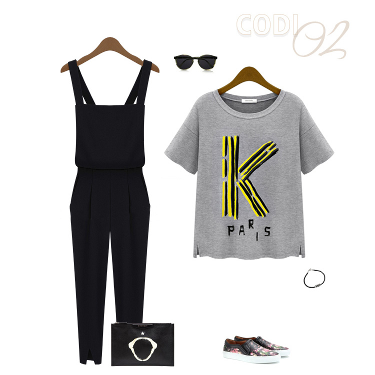 New Style Solid Regular Black Cotton Jumpsuits