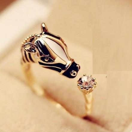 Fashion Gold Metal Ring