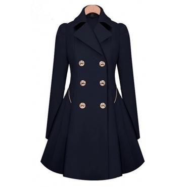 Cheap Fashion Long Sleeve Coat
