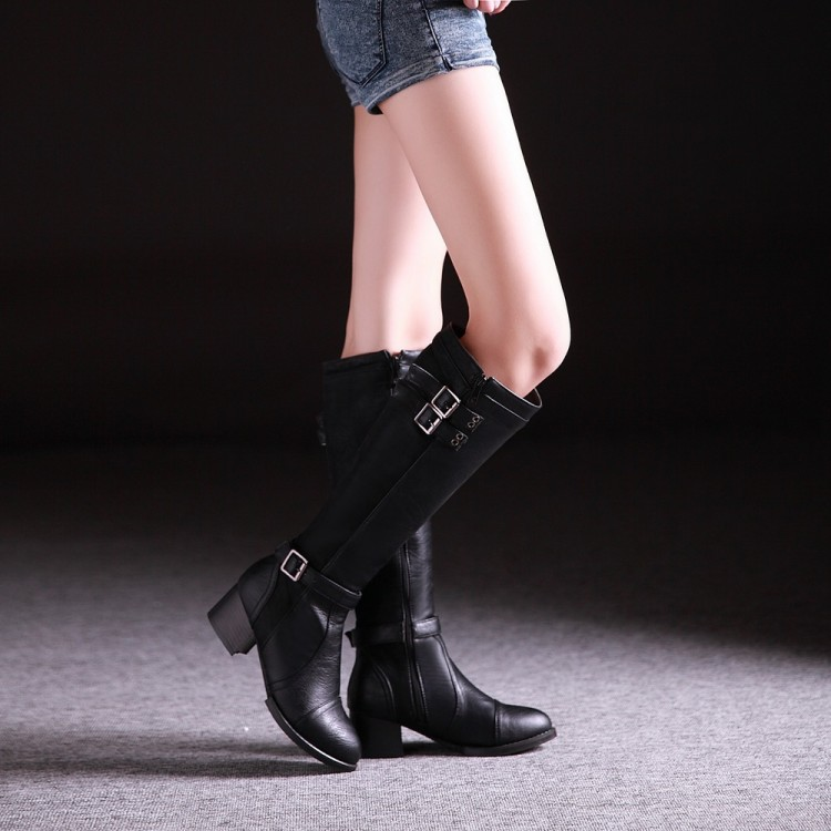black knee high heel boots cheap 28 images cheap
