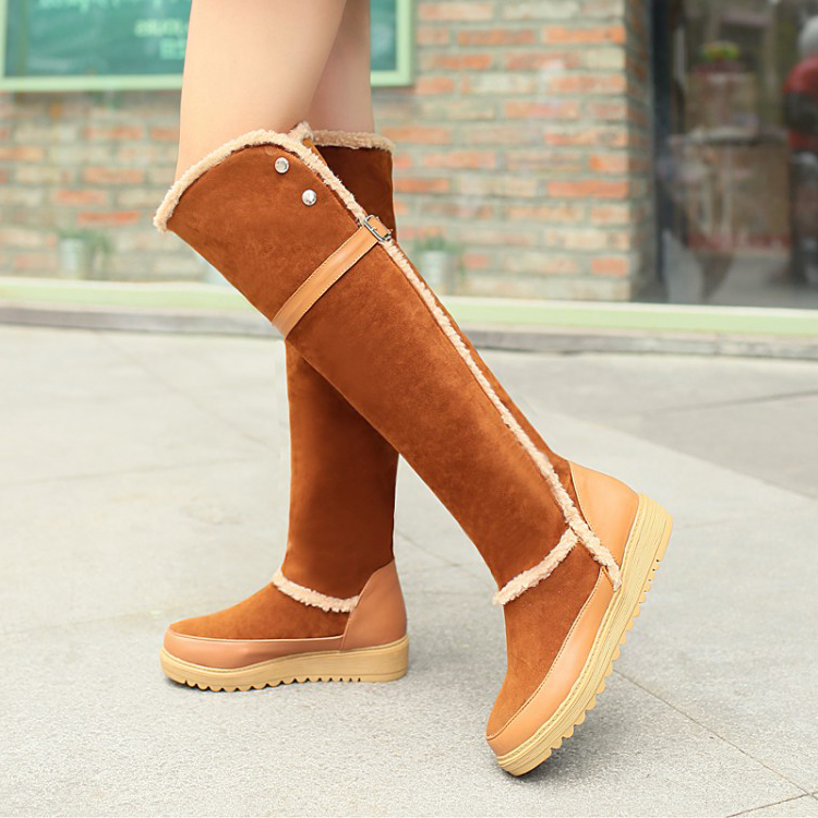 Fashion Parkas Flat Shoes
