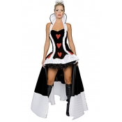 Cheap Sexy Patchwork Polyester Halloween Queen Cos