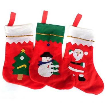 New Style Christmas Snowman Print One Sock