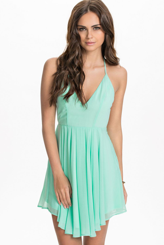 Green Mini Dresses Cheap