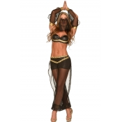 Sexy Polyester Halloween Indian Belly Dancer Cospl