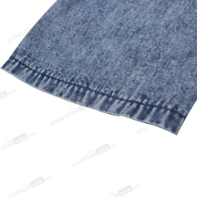 Женщины Sexy длинным рукавом Bodycon клуб джинсовой Жан мини-платье