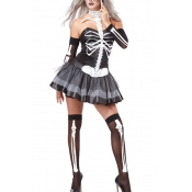 Polyester Halloween Cosplay Costumes Sexy Halter N