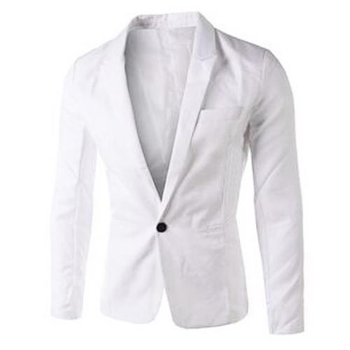Camisola de colar elegante com mangas compridas Design de botão único Combinações de algodão branco