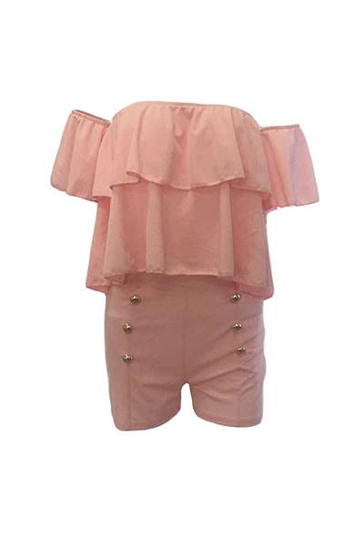 Сексуальные штаны из бато с короткими рукавами