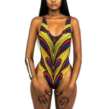 Polyester Print One Pieces