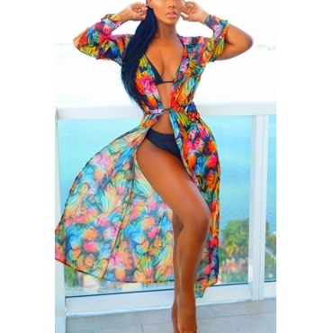 Polyester  Print Cover-Ups