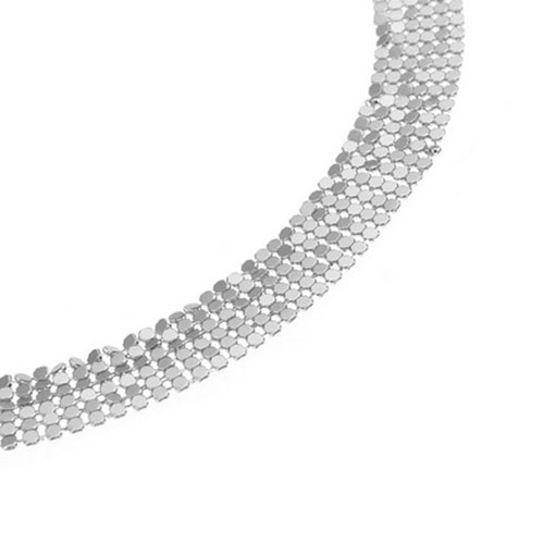 Fashion Rhinestone Decorative Silver Metal Body Chain