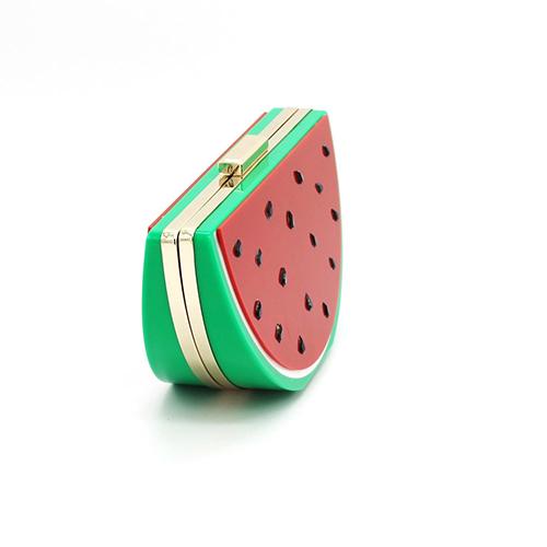 Fashion Watermelon Shaped Design PVC Hasp Messenger