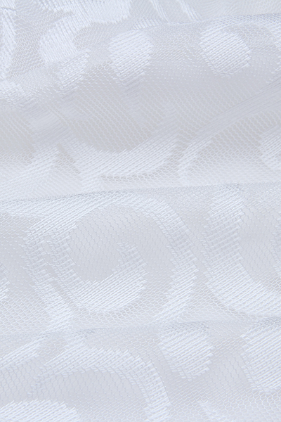 Gauze Sexy V Neck mangas tornozelo comprimento vestidos