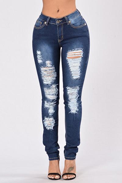 денима твердой молния летать средние обычные брюки джинсы