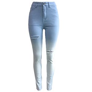 джинсовая ткань Твердая молния Fly High Regular Брюки Джинсы