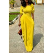 The Daily Wind Yellow Dress