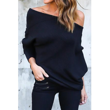 Bat Sleeves Sweaters