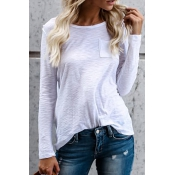 See You There Casual White T-shirt