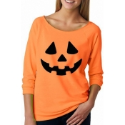 Halloween Party Pumpkin Casual Hoodies