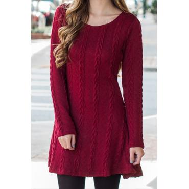 Angel s Kiss Knitting Mini Dress