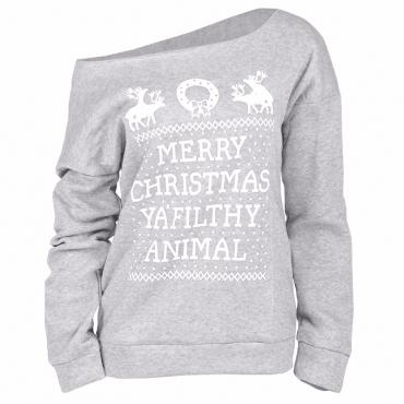 Blending Long Sleeve Regular Pullovers Sweats&Hoodies