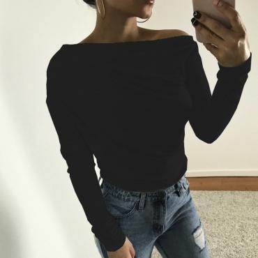 Leisure Dew Shoulder Black Cotton Shirts
