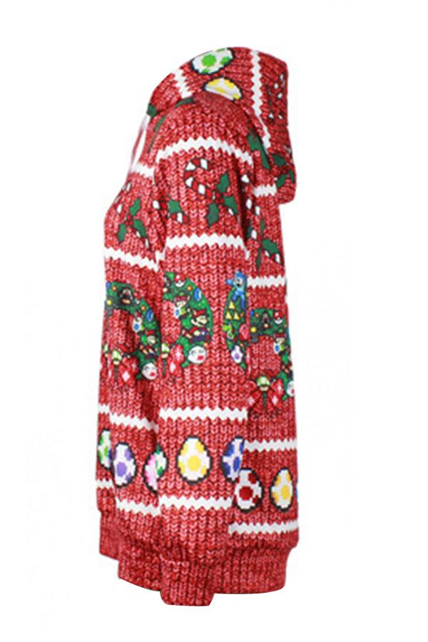 Cuello Con Capucha Euramerican Navidad Sudaderas Con Capucha De Poliéster