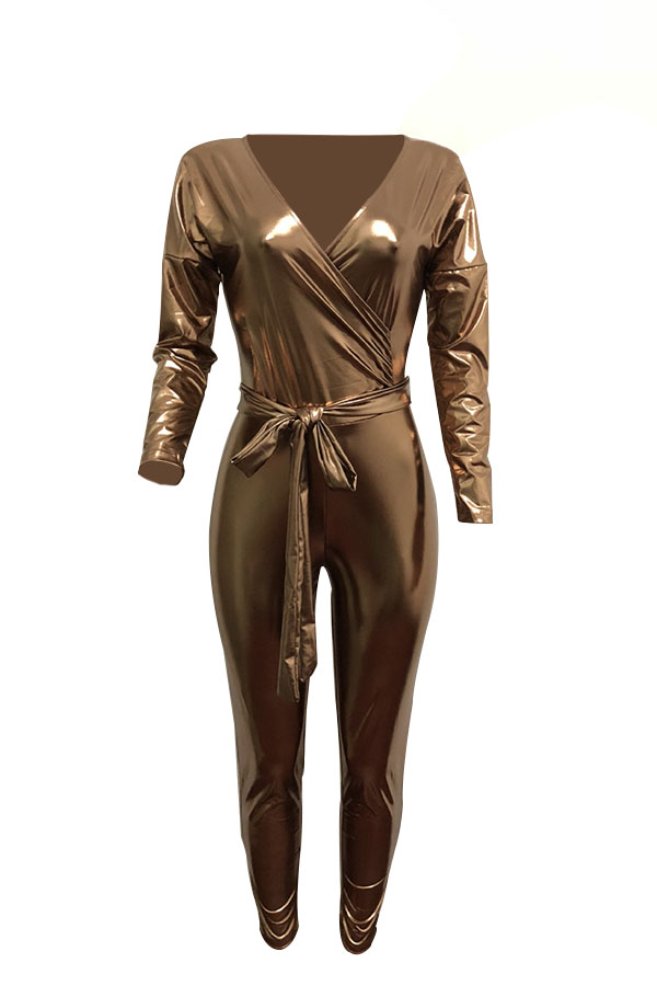 Vestidos De Uma Peça De Couro Em Forma De Luva De Cintura V No Cinto De Moda (com Cinto)