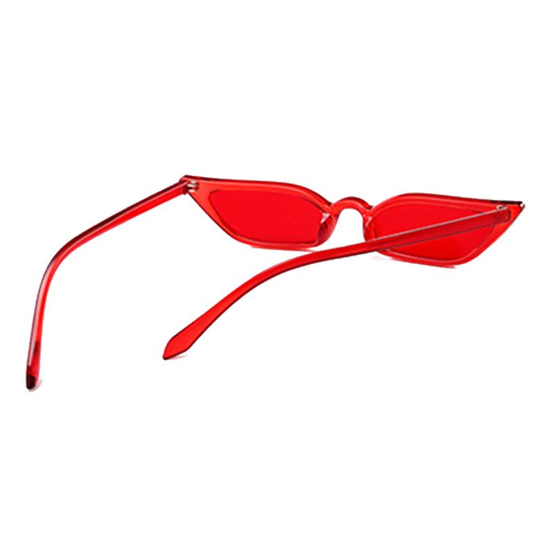 Preciosas Gafas De Sol Rojas Para PC
