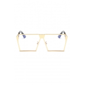 LovelyTrendy Gold Frame PC Sunglasses