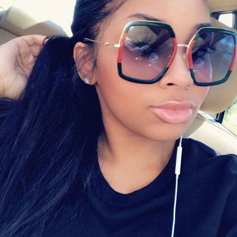 Lovely Casual  Green PC Six Sunglasses