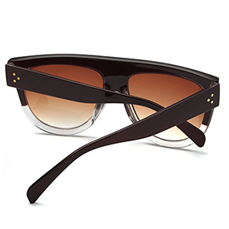 Lovely Fashion Square Frame Rose Red PC Sunglasses