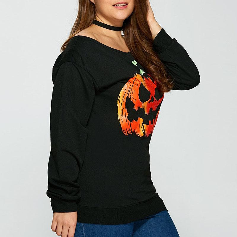 Lovely Euramerican Printed Black Hoodies