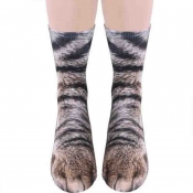 Lovely Chic Animal Coffee Socks