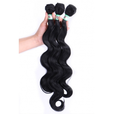 Lovely Euramerican Curly Black Wigs(16inch+18inch+20inch)