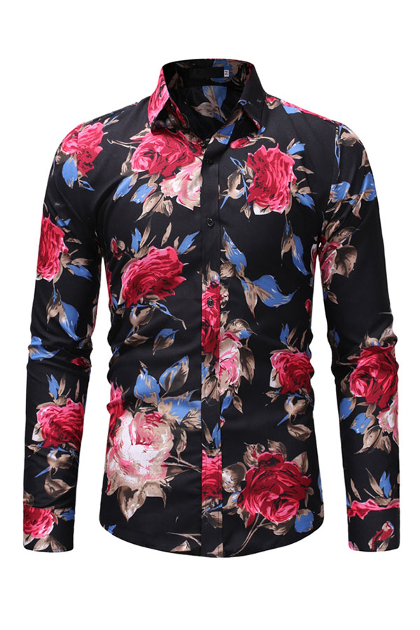 Lovely Casual Printed Multicolor Cotton Shirts