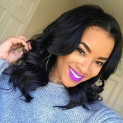Lovely Trendy Curly Black Wigs