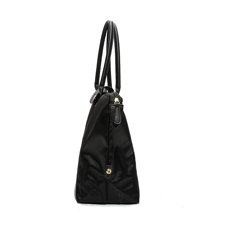 Lovely Casual Travel Large Black Shoulder Bags