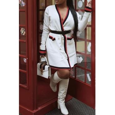 Lovely Polyester Sweet Regular Long Sleeve Coat&Jacket