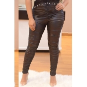 Lovely Black High Elastic Pants