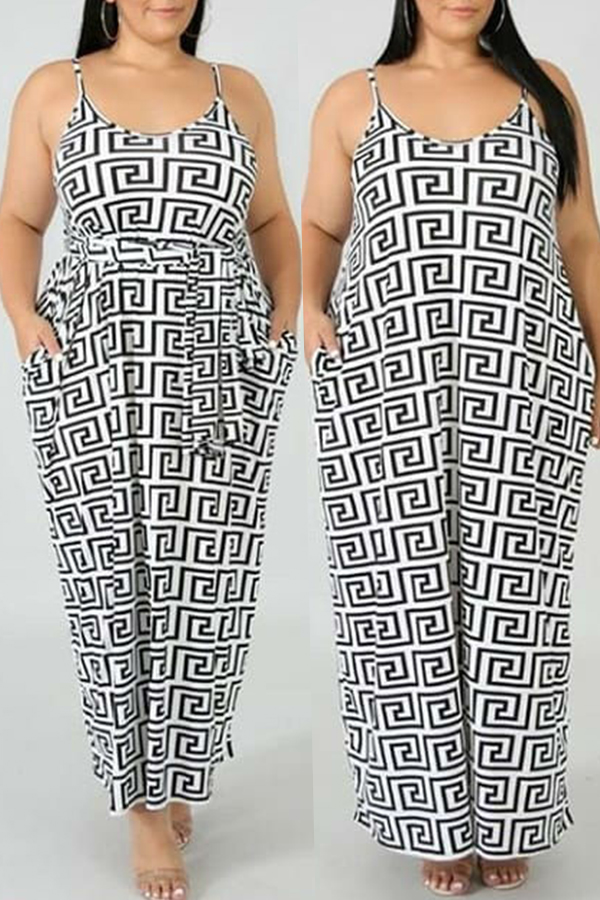 Lovely Women's Printed Ankle Length A Line Dress(With Elastic)